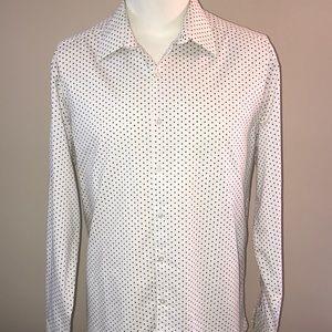 Van Heusen long sleeve shirt SIZE 17 1/2 34-35